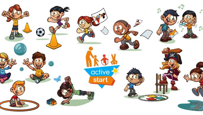 Active Start logo and graphics