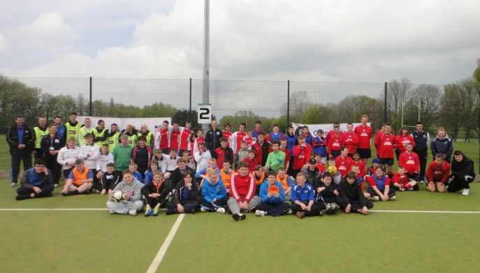 England Talent day participants