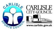 carlisle sports council and carlisle city council logos