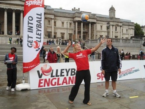 Volleyball England image