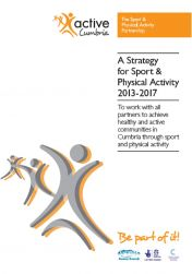 Active Cumbria Strategy front cover