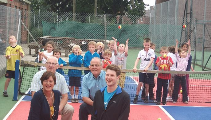 Carlisle Sports Awards launch at Chatworth Tennis Club
